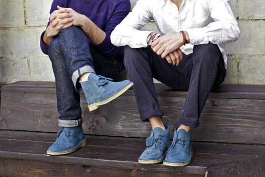 Изображение 1. Обувная компания Clarks представила новую модель desert boots.. Изображение № 3.