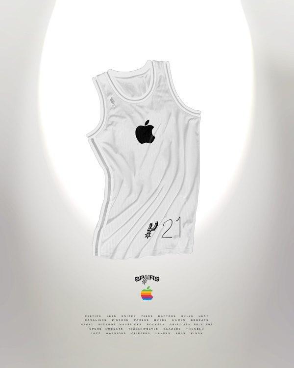 Канадский дизайнер представил, как бы выглядела форма NBA в исполнении культовых брендов. Изображение № 16.