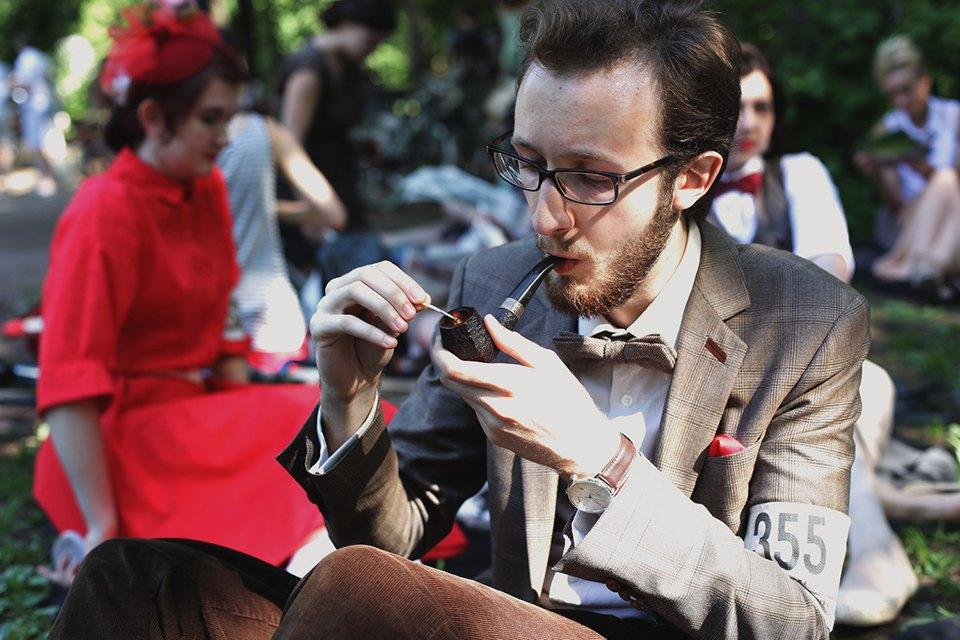 Детали: Репортаж с велозаезда Tweed Ride Moscow. Изображение № 10.