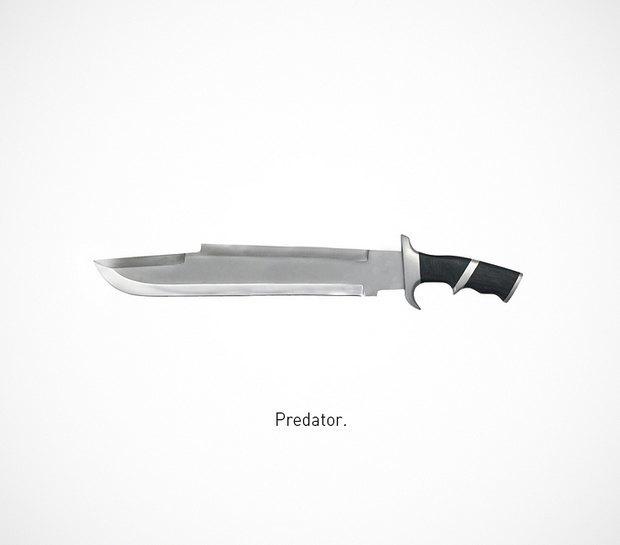 Итальянский дизайнер представил коллекцию ножей знаменитых персонажей. Изображение № 22.