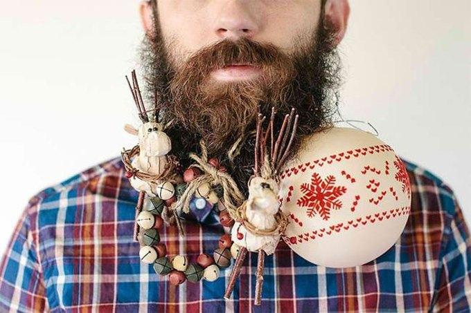 Американец научил свою бороду держать предметы. Изображение № 5.
