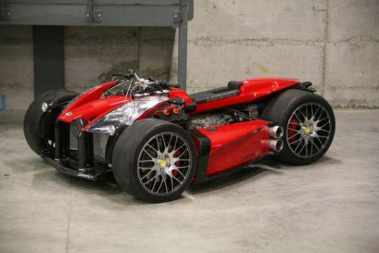 Квадроцикл с мотором Ferrari компании Ludovic Lazareth. Изображение № 7.