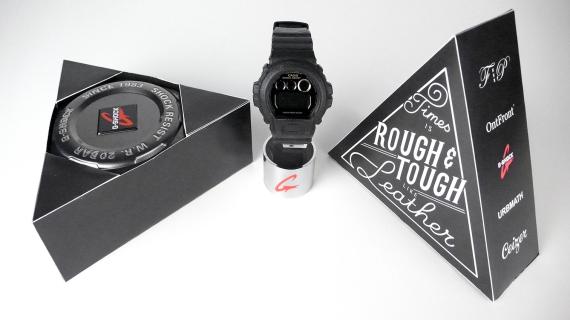 Марки G-Shock, OntFront, Filling Pieces, Ceizer и Urbmath представили совместную модель часов. Изображение № 2.