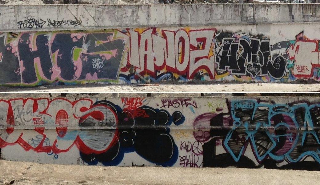 Стена славы: Граффити-карта Москвы. Изображение № 10.