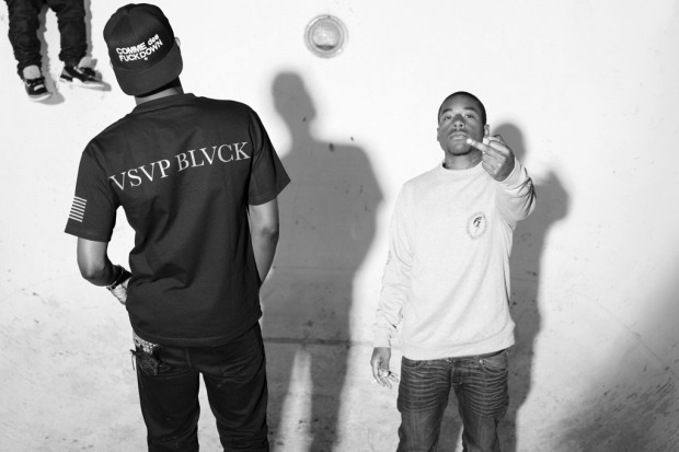 Марка Black Scale и рэпер ASAP Rocky выпустили лукбук совместной коллекции одежды. Изображение № 6.