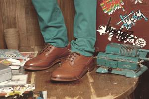 Совместная коллекция обуви Trickers и Superdenim. Изображение № 7.