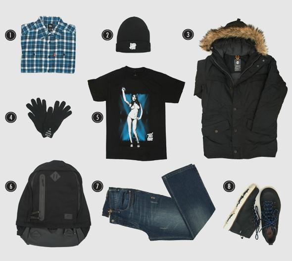 Соберись, тряпка: 3 зимних лука магазина Sneakerhead. Изображение № 2.