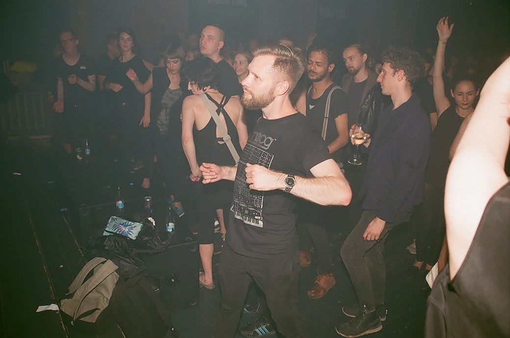 Фоторепортаж: «Дисциплина» в клубе Fassbinder. Изображение № 5.