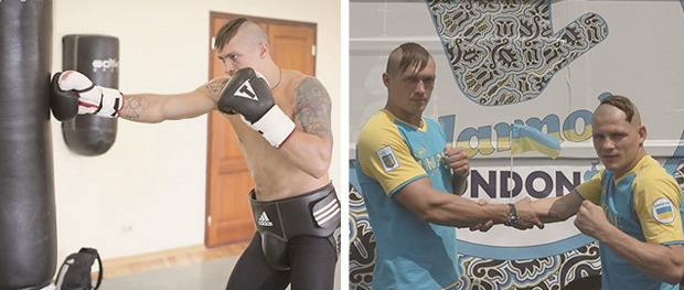 Украинские боксеры поехали на Олимпиаду с казацкими чубами. Изображение № 4.