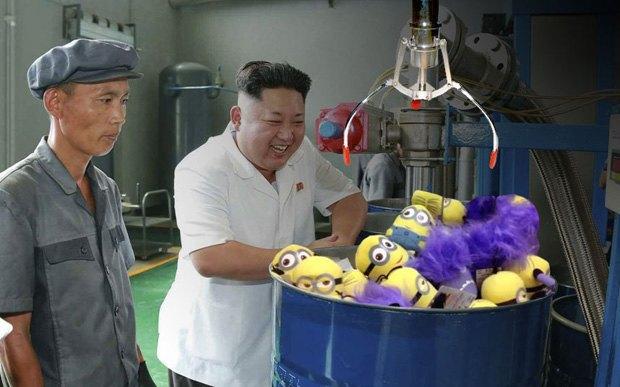 Поход Ким Чен Ына на завод смазок стал новым интернет-мемом . Изображение № 3.