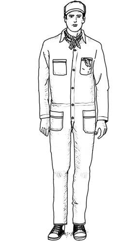 Рабочий вариант: Как носить и выбирать комбинезоны. Изображение № 6.