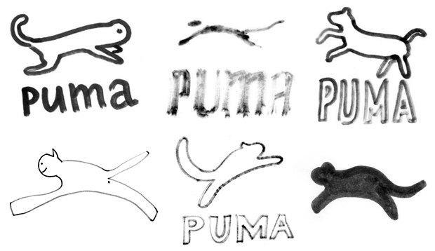 Дизайнеры Look At Media рисуют логотипы марок одежды по памяти. Изображение № 10.