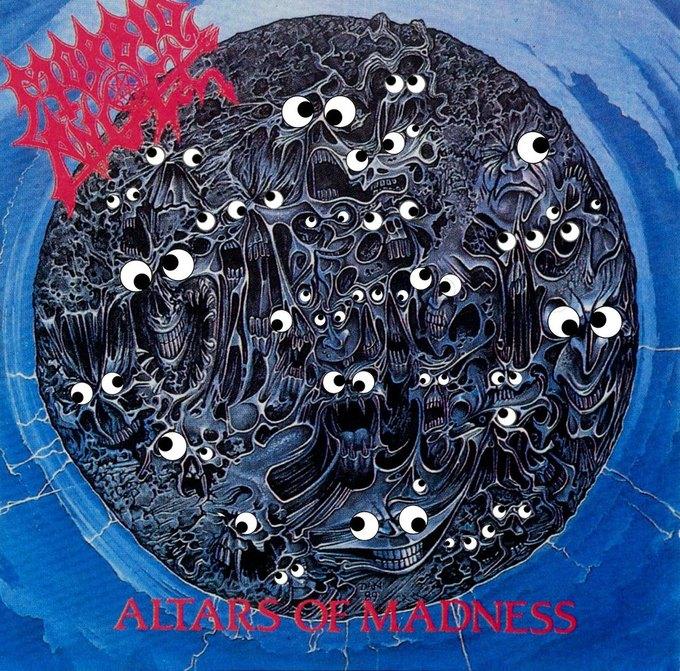 Metal Albums with Googly Eyes: Блог смешного кастомайзинга альбомов тяжёлой музыки. Изображение № 12.