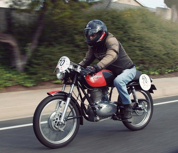 Мастерская Vintage Italian Restoration представила мотоцикл Gilera 175 Milano Taranto. Изображение № 4.