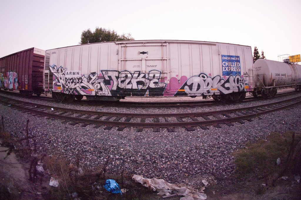 True 2 Death: Блог о разрисованных поездах из Южной Калифорнии. Изображение № 9.