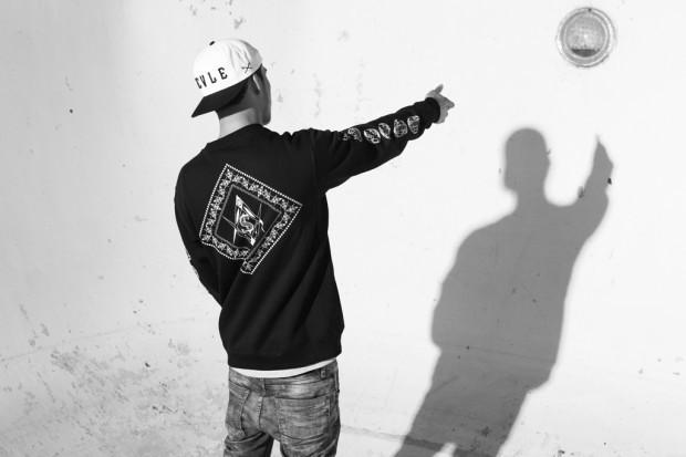 Марка Black Scale и рэпер ASAP Rocky выпустили лукбук совместной коллекции одежды. Изображение № 5.