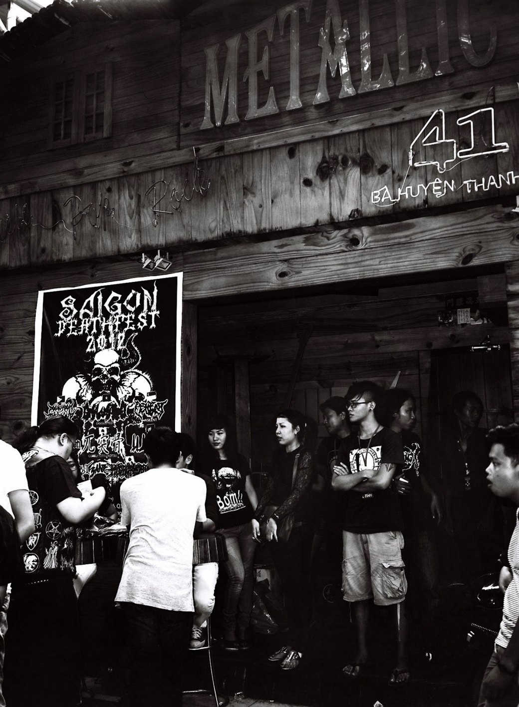 Азиатский андеграунд: Панк, грайндкор и экстремальный метал по-вьетнамски . Изображение № 13.
