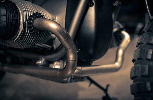 Мотомастерская ER motorcycles представилановый кастом на базе BMW R60/7. Изображение № 6.