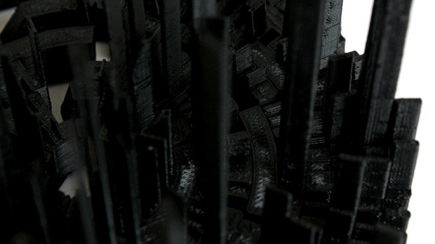 Дизайнеры отпечатали 3D-макеты альбомов Portishead, Ника Дрейка и Einsturzende Neubauten. Изображение № 11.