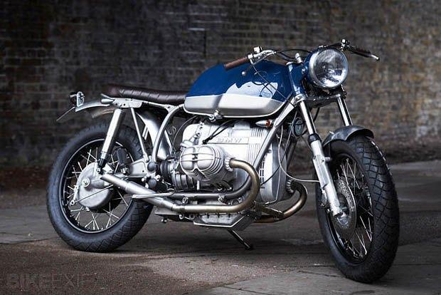Лондонская мастерская Untitled Motorcycles представила новый кастом на базе BMW R100 RT. Изображение № 1.