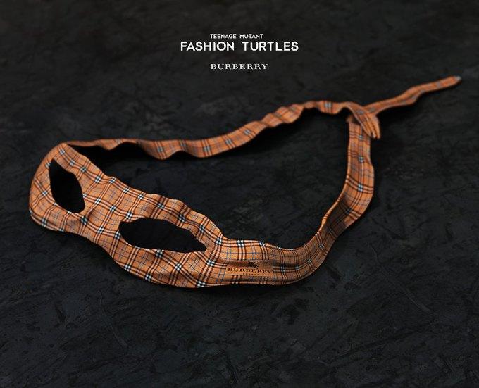 Дизайнеры придумали коллаборацию черепашек-ниндзя и модных брендов. Изображение № 3.