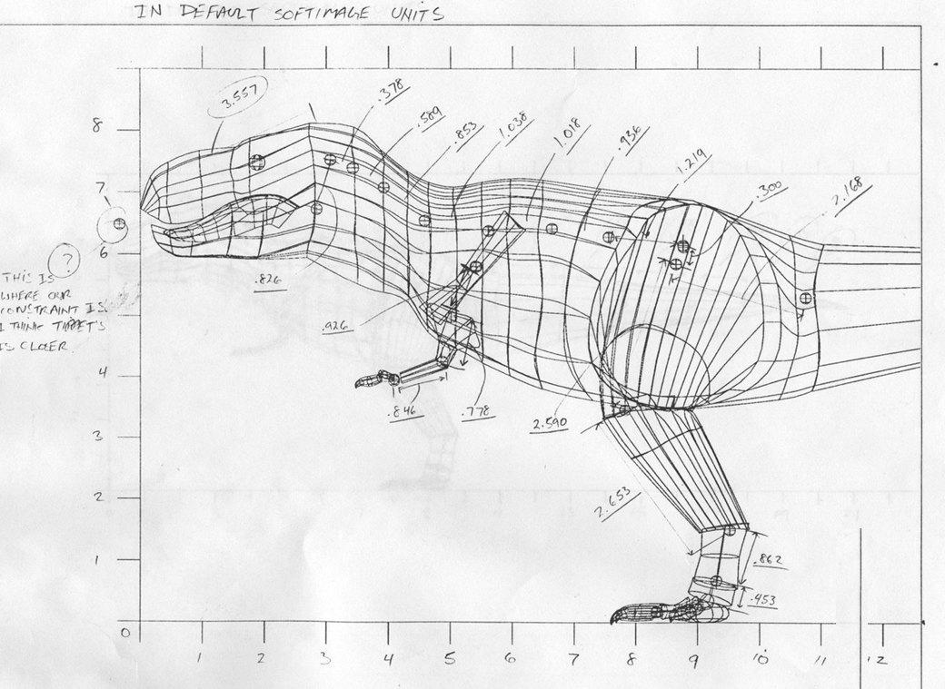 Как создавали тираннозавра для «Парка Юрского периода». Изображение № 4.