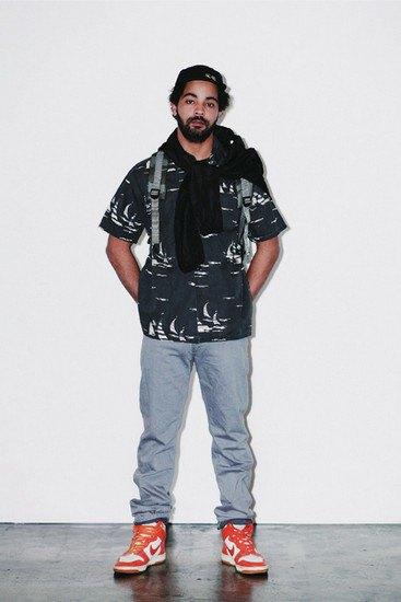 Марка Stussy опубликовала лукбук весенней коллекции одежды. Изображение № 7.
