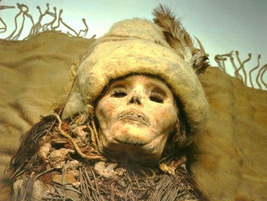 Старейший в мире сыр найден на китайских мумиях. Изображение № 1.