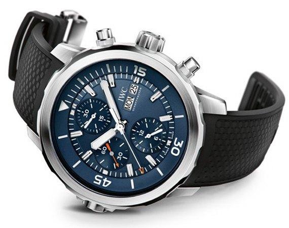 Марка IWC выпустила часы для дайверов в честь Жак-Ива Кусто. Изображение № 1.
