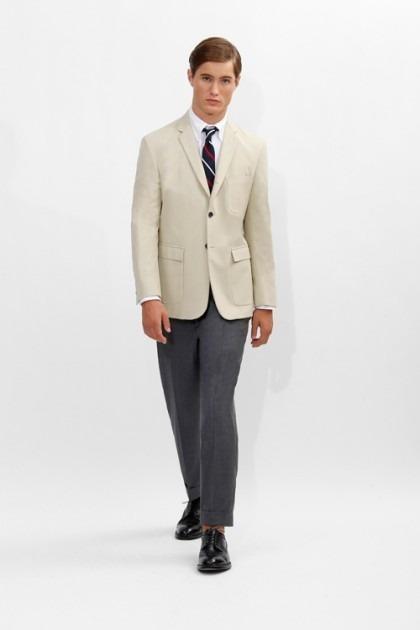 Марка Brooks Brothers представила новую коллекцию одежды линейки Black Fleece . Изображение № 3.