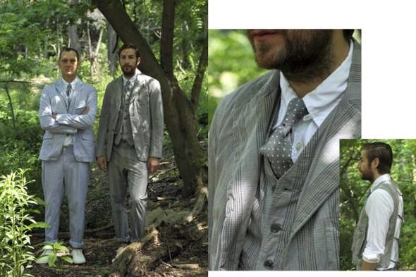 Лукбук новой коллекции марки Engineered Garments. Изображение № 7.