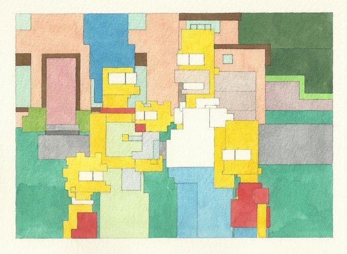 Адам Листер: Иконы поп-культуры в 8-битной живописи. Изображение № 8.