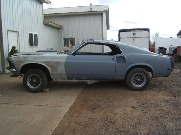 Американская мастерская изготовила гибрид маслкара Ford Mustang Mach 1 и спорткара GT40. Изображение № 14.