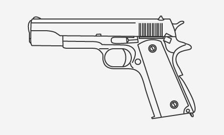 Пистолет кольт в истории американской армии, кино и масс-медиа. Изображение № 7.