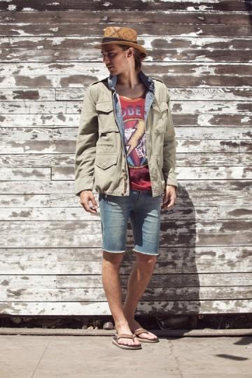 Марка Obey выпустила лукбук весенней коллекции одежды. Изображение № 22.