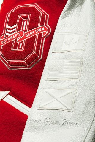 Коллекция университетских курток хип-хоп музыканта Дрейка. Изображение № 5.