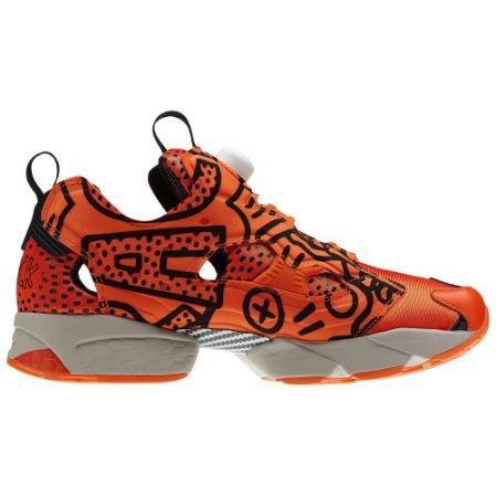 Reebok Classic выпустили новые кроссовки с рисунками Кита Харинга. Изображение № 3.