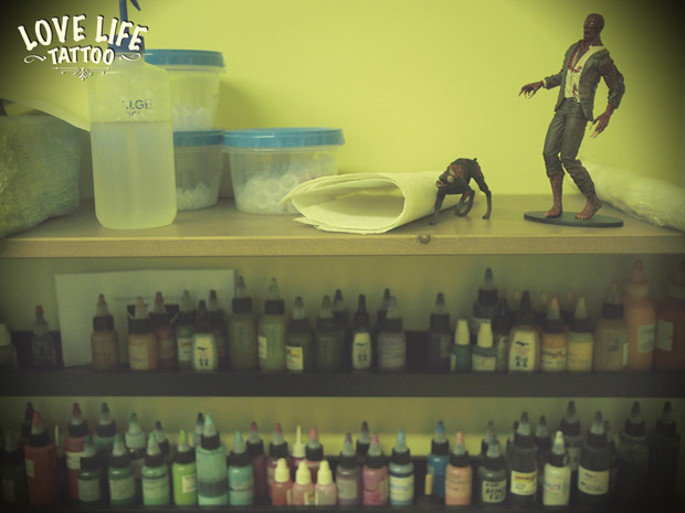 Репортаж из нового помещения Love Life Tattoo. Изображение № 2.