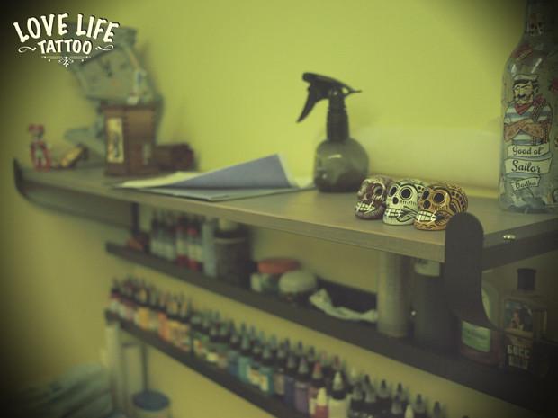 Репортаж из нового помещения Love Life Tattoo. Изображение № 3.