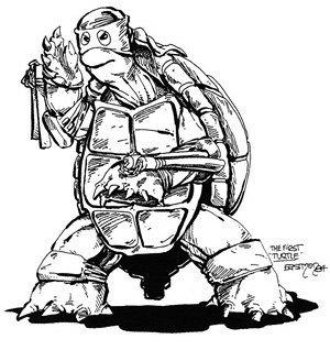 Самая полная история вселенной черепашек-ниндзя. Изображение № 1.