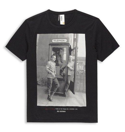 Марка Ben Sherman и музыкальный фотограф Джанет Бекман выпустили совместную коллекцию футболок. Изображение № 8.