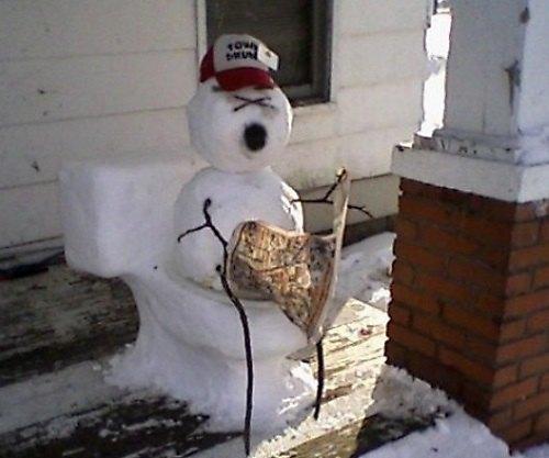 Что ты лепишь: Альтернативные снеговики со всего мира. Изображение №4.