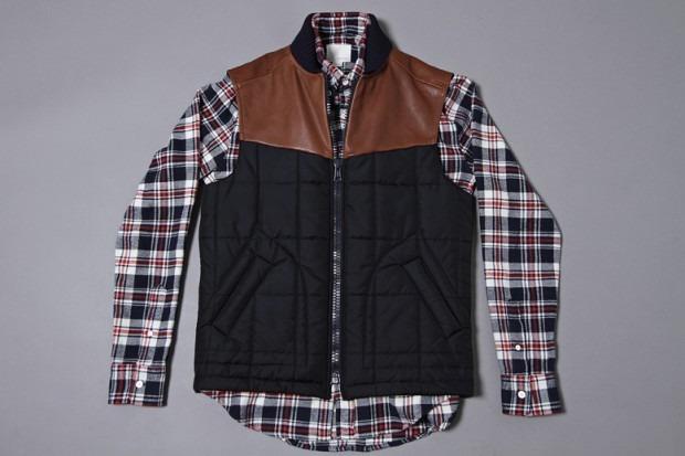 Американская марка Band of Outsiders представила осеннюю коллекцию одежды. Изображение № 3.