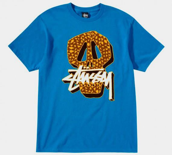 Марка Stussy выпустила весеннюю линейку футболок . Изображение № 5.