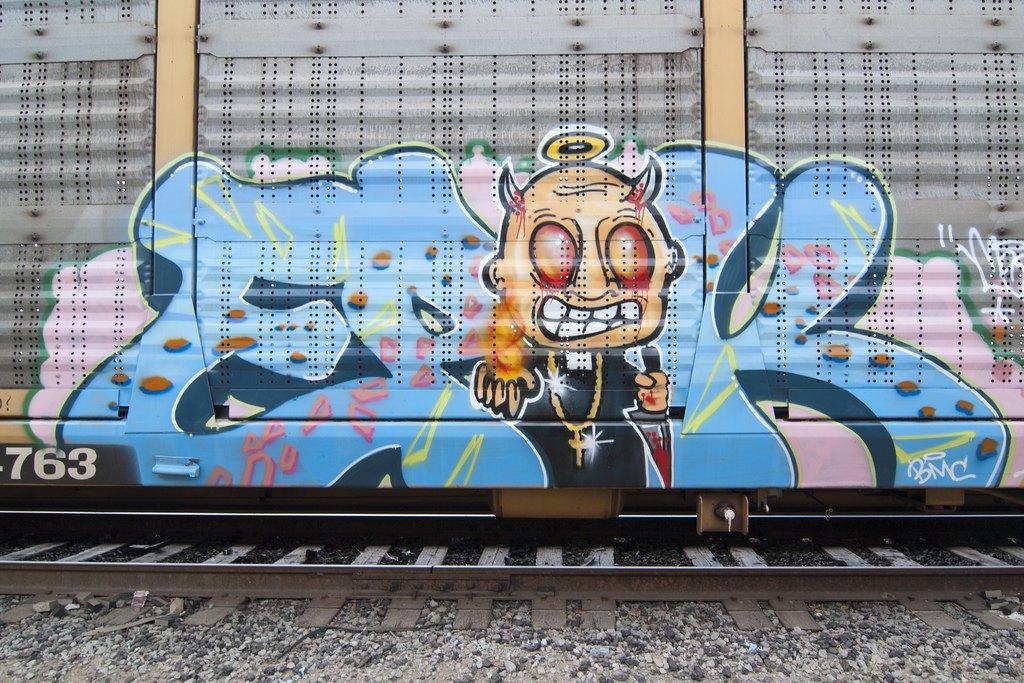 True 2 Death: Блог о разрисованных поездах из Южной Калифорнии. Изображение № 12.
