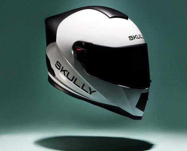 Компания Skully изобрела мотошлем с цифровым интерфейсом. Изображение № 1.