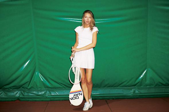 Классические формы: Теннисистка. Изображение № 8.