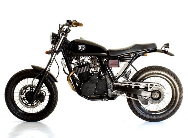 Мастерская Deus Ex Machina выпустила кастомный мотоцикл на базе Suzuki DR650. Изображение №2.