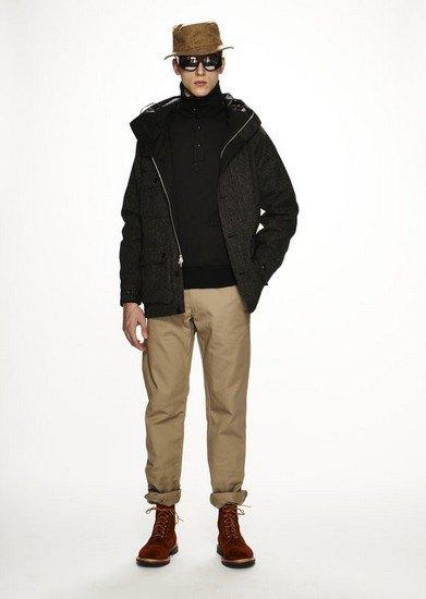 Марка Woolrich Woolen Mills опубликовала лукбук осенней коллекции одежды. Изображение № 12.