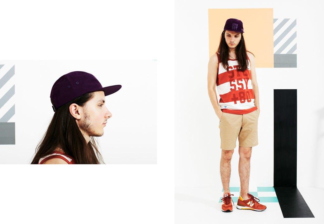 Магазин Kixbox выпустил лукбук весенней коллекции одежды. Изображение № 12.